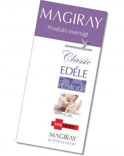 Brochure, produkt-oversigt